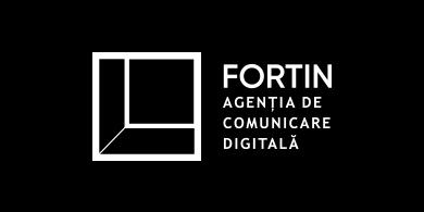 logo fortin background negru